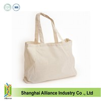 Cheap wholesale plain canvas tote bags promo ALD490