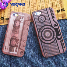 mobile phone accessories,real wooden phone case for Iphone6 wood case