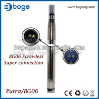 Boge screwless e cig e cigarette Putra BG06 with UDCT AGR Cartomizer