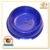 eco-friendly bone shaped dog bowl pet health products