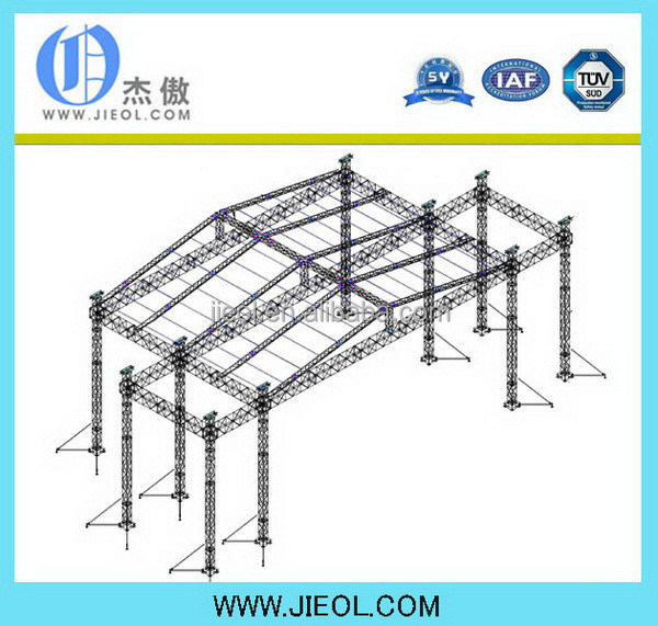 Hot sale classical metal roof truss system