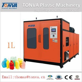 Blow molding machine 1L for PE PP PVC PA PC PS ABS TPU plastic products making