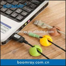 Multi-purpose Cable Drop Clip Holder For Laptop Notebook PC Cable universal cell phone belt clip