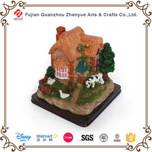 Christmas ornament, beautiful house model