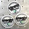 waterproof rubber lable/ garment patch/ transparent garment patch labels