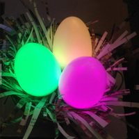 Egg Shape 7 Multi-Color LED Night Light Nightlight Changing Mood Flashlight Bar Table Lamp for Christmas Romantic Lighting