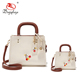 2018 Newest Trend Bag in Bag Parent-child Handbag Big& Small Twin Hand Bags Cherry