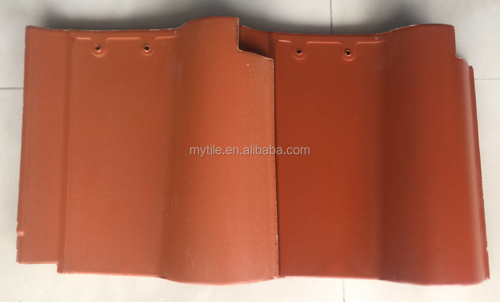 310X310MM Ceramic Spanish Roof Tile for Villa