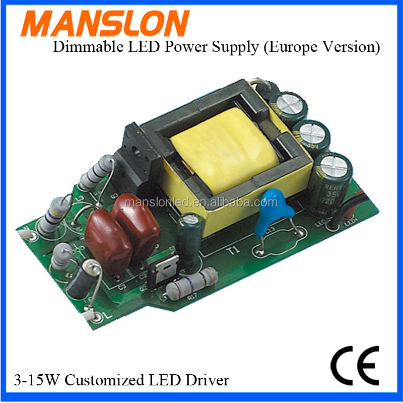 power supplier cheap price 12w dimmable led driver led bulb driver made in China