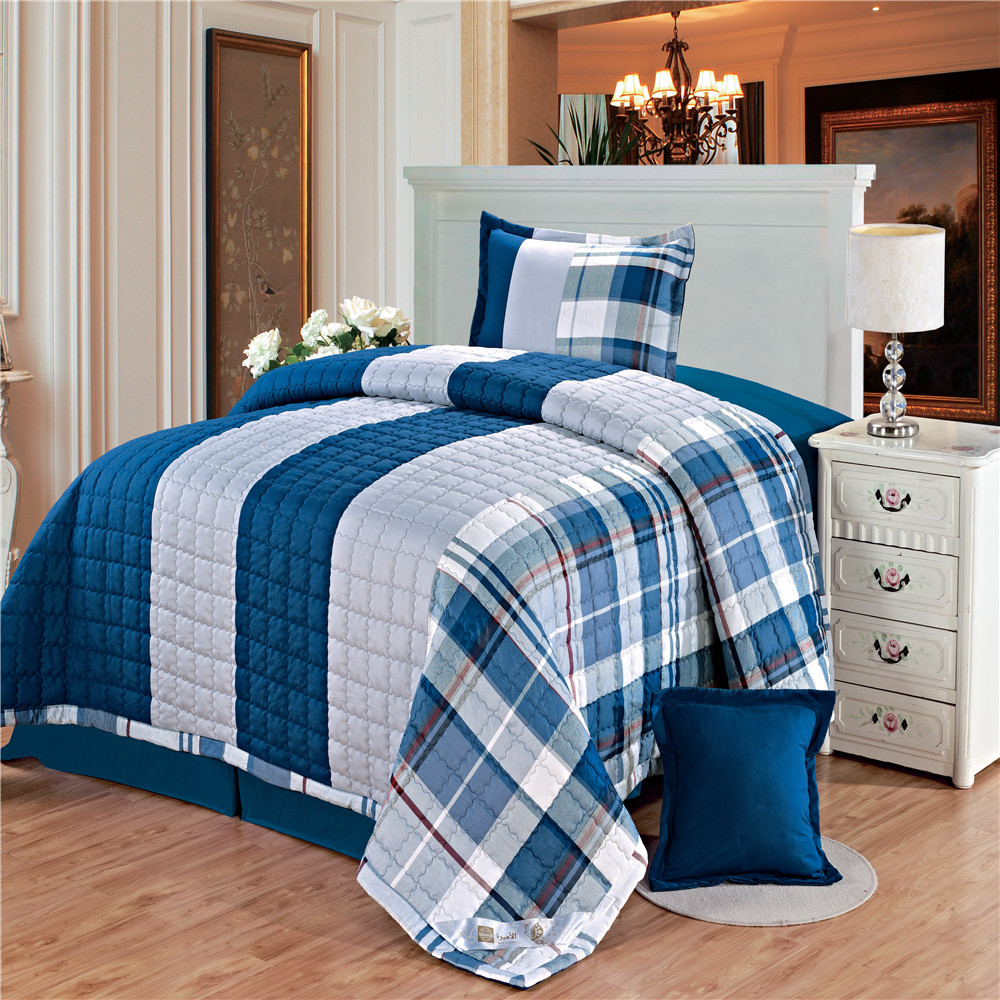 100% cotton 12868 and 95g plain sanded fabric bed set