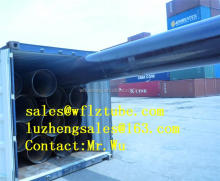 "gas or oil or water pipe 4"" 6"" 10"" 12"" 16"", STEEL PIPE NATURAL GAS, black pipe astm a106"