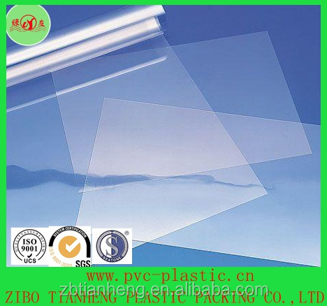 RIGID PVC sheet for collar garment