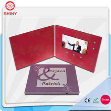 7 Inch Upscale Video Boklet,LCD Video Card,Electronic 3D Video Brochure