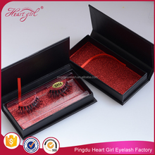 100% Siberian mink lashes custom package false eyelash