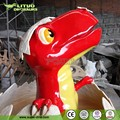 Cartoon Fiberglass Dinosaur Sculpture for Amusement Park
