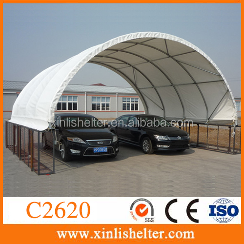 outdoor pvc canopies/car parking shelter