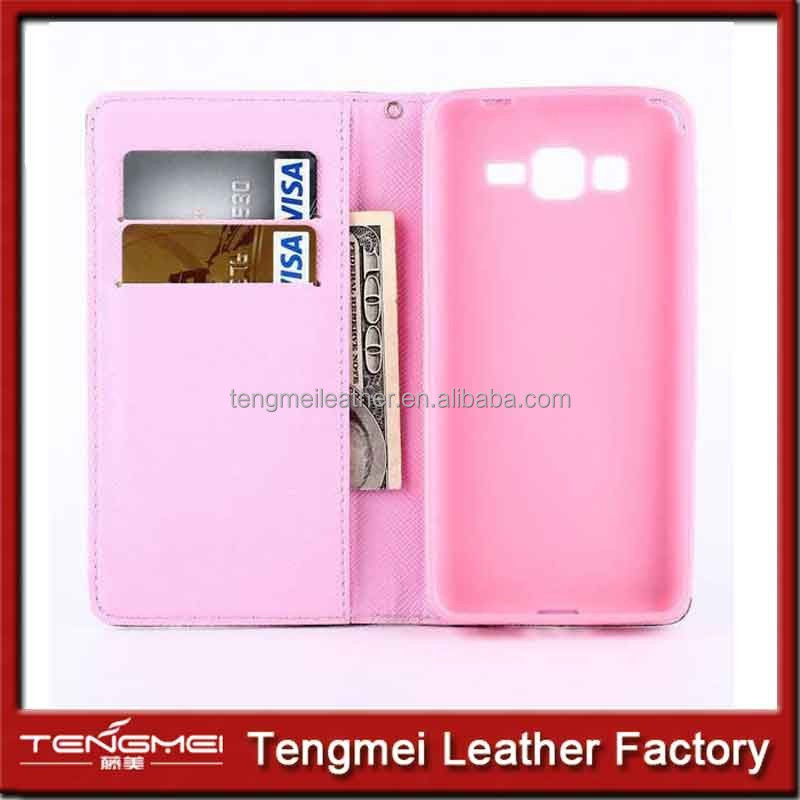 case for samsung galaxy grand prime g530h g5308w, PU and TPU case for samsung galaxy grand prime