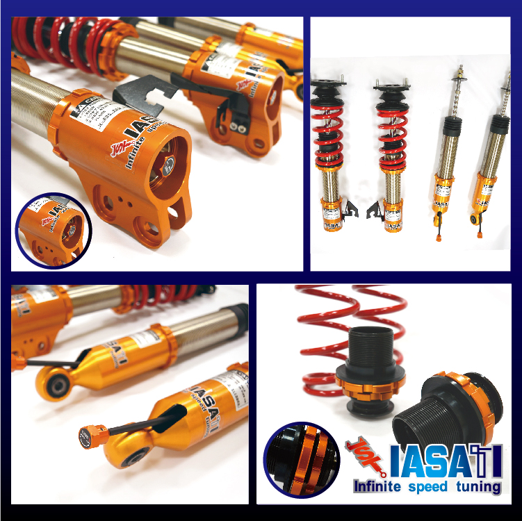 IASATI Coilover Suspension kit (Set of 4 ) For March <strong>K11</strong> 92'~02'