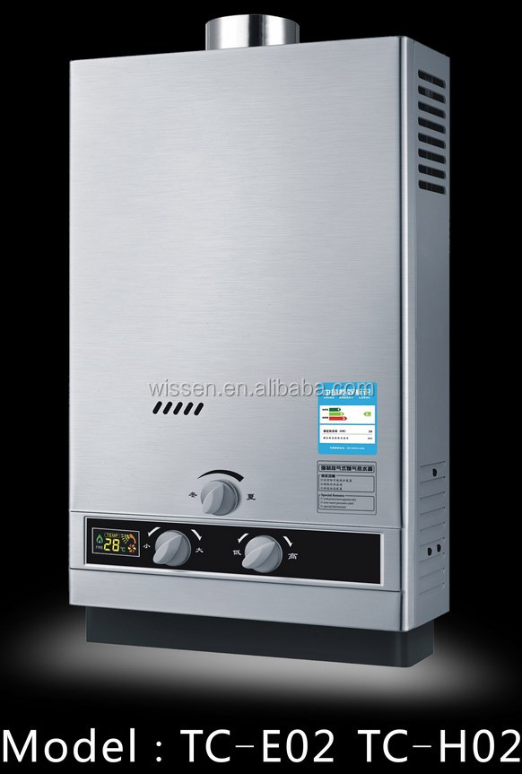 1000w 1500w 2000w stainless steel panel instant gas water heater manufacturer gas hot water heater on sale