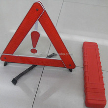 reflective vehicle emergency warning triangle