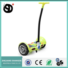 New CE model blue tooth radio control balance scooter with LED light