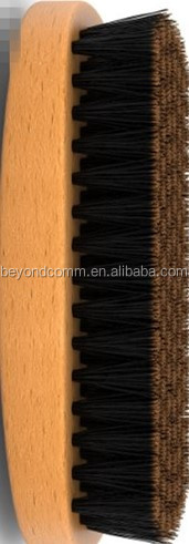 Beard Brush for Men, Wild Boar Bristles for Easy Grooming , Facial Care Hair Comb for Beards , Mustache Conditioning, Styling