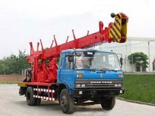 SPC-300D truck mounted water well drilling rig
