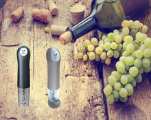 Hot Selling Electric Wine Bottle 500mA Opener Corkscrew with Foil Cutter