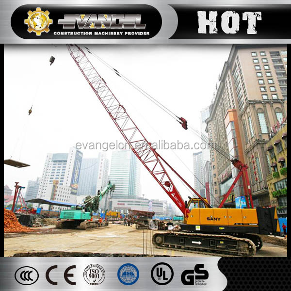 2015 hot sale high speed and low noise track roller for sanyi scc500e crawler crane