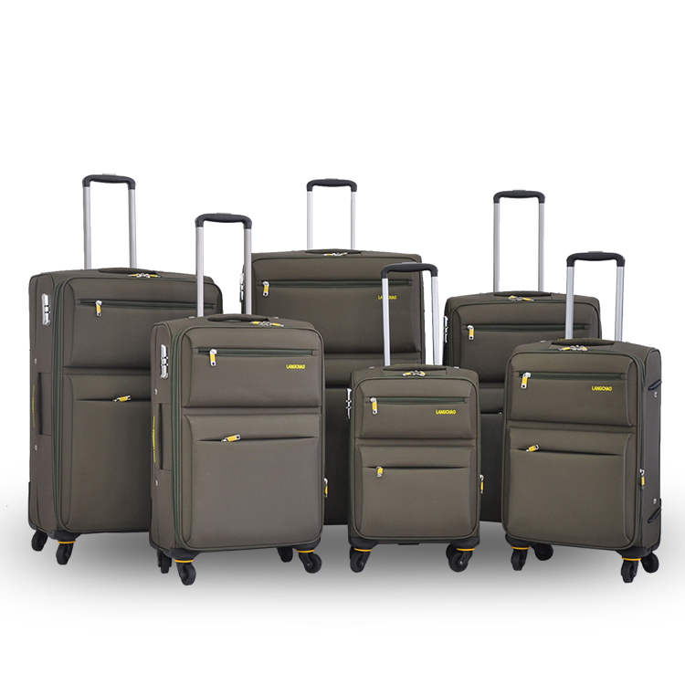 Polyester Nylon travel trolley bag/EVA LUGGAGE/carry on luggage