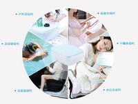 Hot sale! Multifunction Air Pillow Table Inflatable Pillow Cushion / Folding Air Desk Table