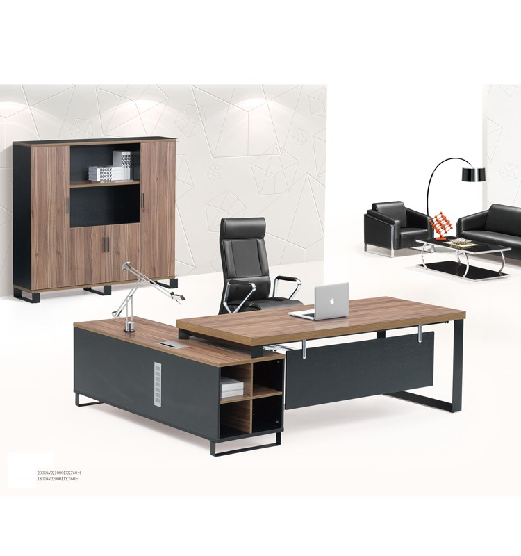 Modern High End Black Oak Chocolate Malamine Executive Desk Office Furniture Buy Executive
