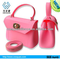 2013 new design Silicone handbags for ladies with Low price