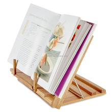 protect eyesight bedroom wood book shelf reading stand