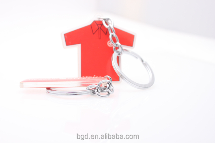 VOGRACE High quality plastic acrylic keychain