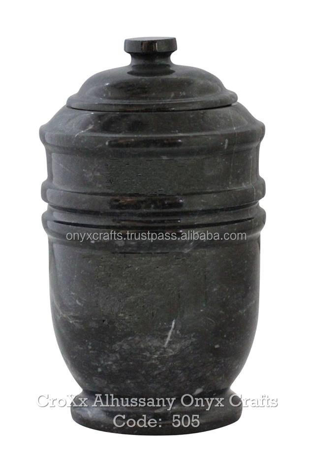 Jet Black Marble urny in discounted Wholesale Price