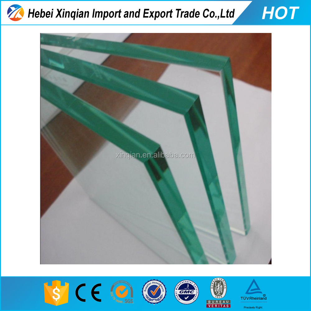 Cheap price plain clear float glass 6mm 8mm