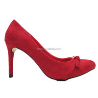2015 fashion new style model women party classic red 8-10cm high heel shoes