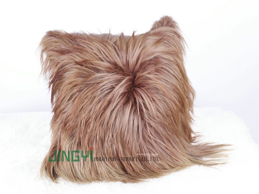 Wholesale Goat and Sheep Skin Cushion Cover