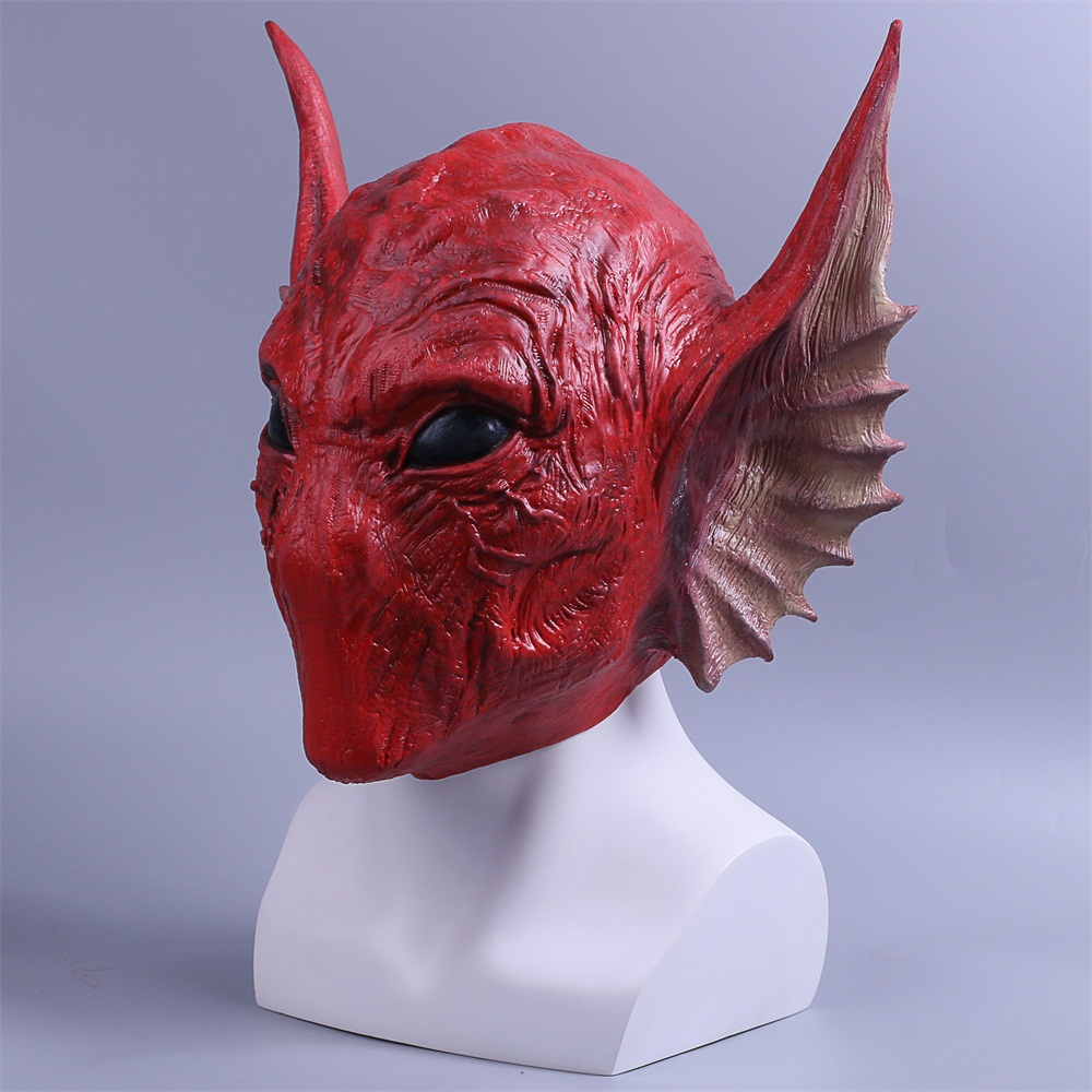 Guardians of the Galaxy Vol. 2 Mask Krugarr of LEM Serpentine Alien Scary Mask2