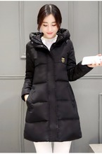 China wholesale cheap price winter warm women's long coat