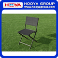 4pcs iron outdoor leisure folding chair,black,53CM*46CM*82CM