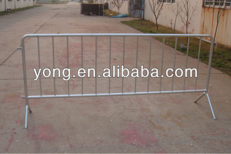 Steel tube car parking barrier