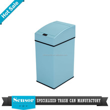 3L stainless steel recycle trash bin iron sheey clothes bin