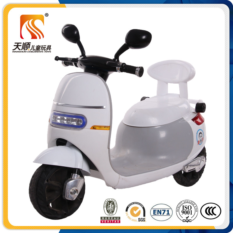 Most popular new PP plastic kids electric motorcycle export to Russia