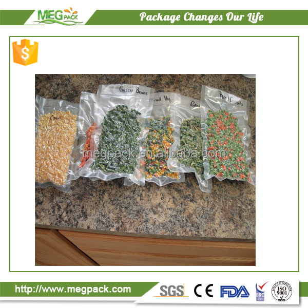 SGS Approved Food Safe Plastic Chamber Vacuum Bags