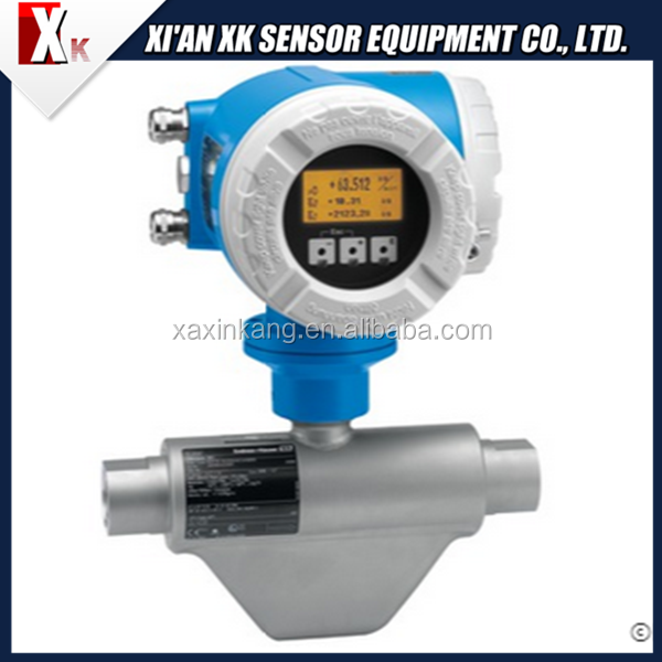 Friendly Natural Gas e+h CNG mass Coriolis Flow Meter