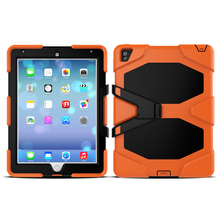2016 Hot Product For IPad PRO 9.7 Armor Case Heavy Duty Rugged PC Kickstand Hard Cover