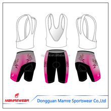 2017 Sublimation Coolmax Cycling Wear , Breathable Cycling Bib Shorts , Quick Dry Cycling Clothes for Sale