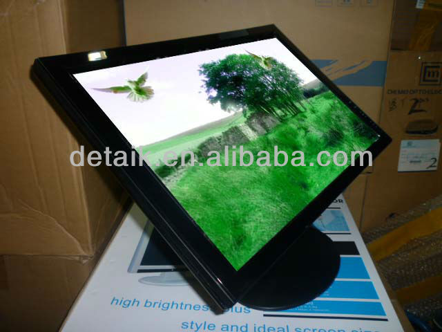"19"" touch screen VGA USB touch monitor 16:10 digital lcd touch monitor"